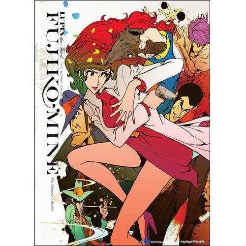 Lupin the Third: The Woman Called Fujiko Mine - The Complete Series [4 Discs] [Blu-ray/DVD]