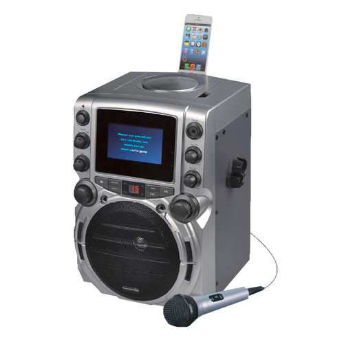 Karaoke USA CDG Karaoke System with 4.3 Inch Color TFT Screen with Bluetooth