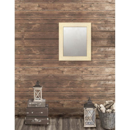 Larson-Juhl Pinnacle 21.625 in. x 25.625 in. French Antique Framed Antique Mirror