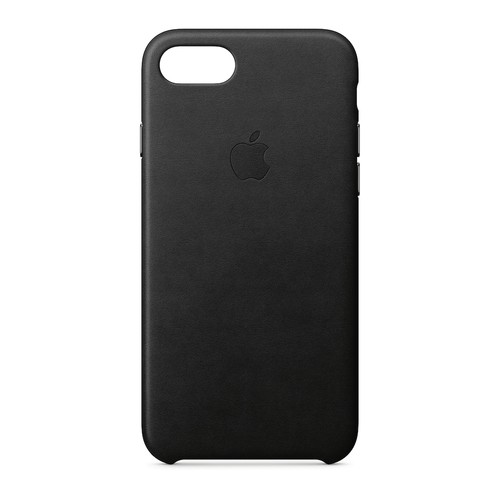 Apple Leather Case for iPhone 8 / 7 - Black