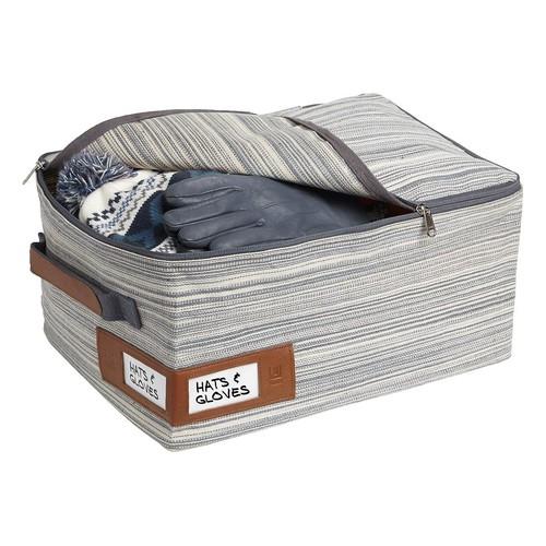 Umbra Small Grey Artisan Crunch Storage Bag