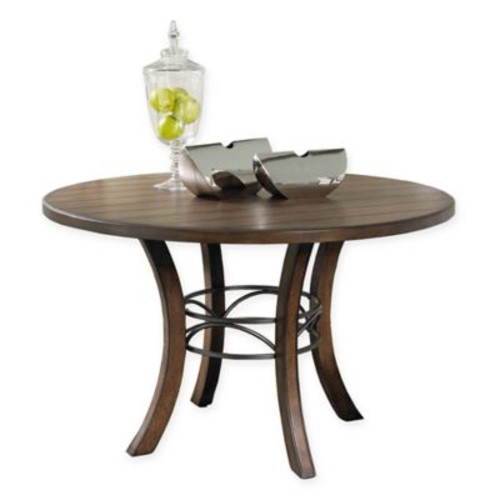 Hillsdale Cameron Dining Table in Chestnut Brown