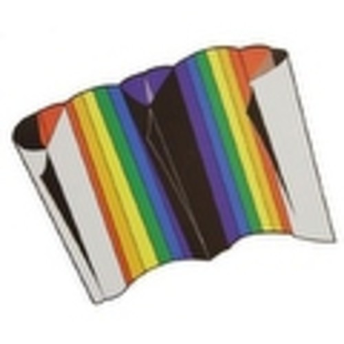 Sled Kite with Rainbow Design