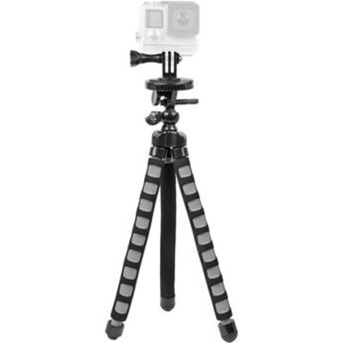 Bower Xtreme Action Series Flex Tripod for GoPro - Black/ Grey (XAS-BPG)