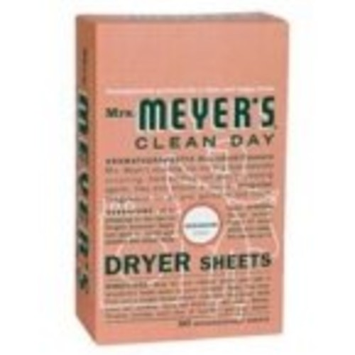 Mrs. Meyers Clean Day Dryer Sheets Geranium [80 Count]