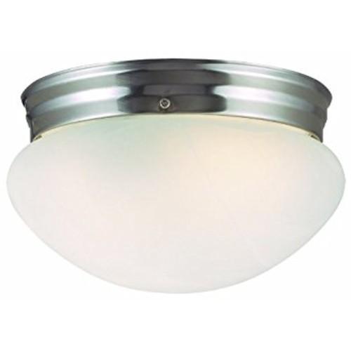 Design House 511576 Millbridge 1 Light Ceiling Light, Satin Nickel