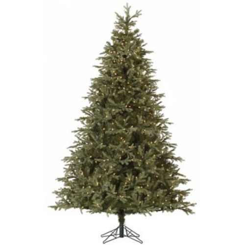 Vickerman Elk Frasier 8' Green Fir Artificial Christmas Tree w/ 1050 Dura-Lit Clear Lights