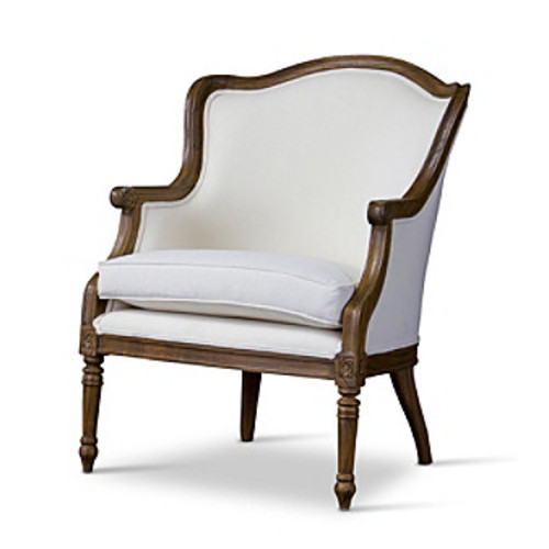 Baxton Studios Charlemagne Traditional French Accent Chair