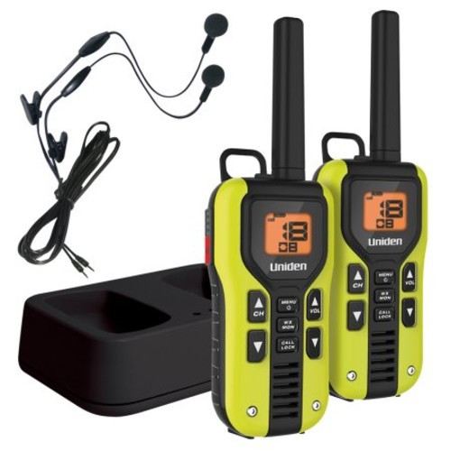 Uniden - 40-Mile, 22-Channel GMRS/FRS 2-Way Radios (Pair)