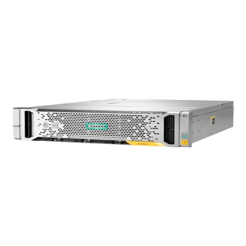 Hewlett Packard Enterprise StoreVirtual 3200 400GB SFF - Hard drive array - 1.6 TB - 25 bays (SAS-3) - SSD 400 GB x 4 - rack-mountable - 2U - Smart Buy (P9M73SB)