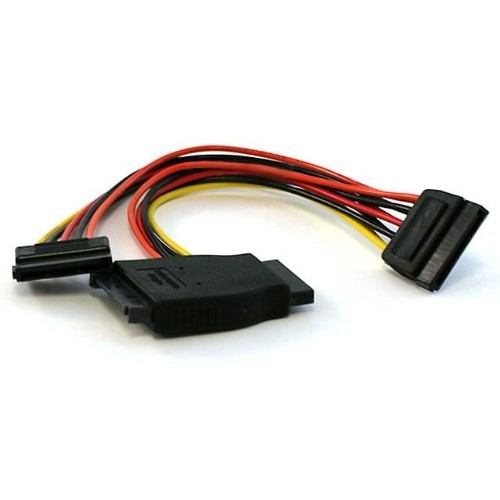 Monoprice 7-inch 15-pin SATA Power Y Cable