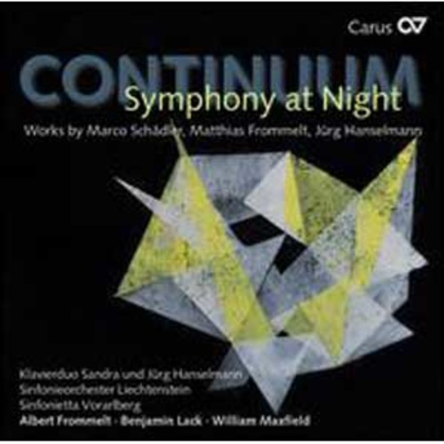Continuum: Symphony at Night By William Maxfield (Audio CD)
