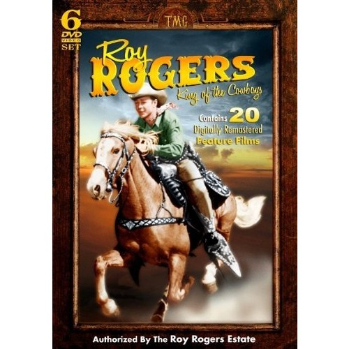 Roy Rogers - King of the Cowboys - 20 Feature Films and more on Set!