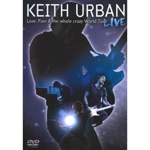 Love pain the whole crazy world tour (DVD)