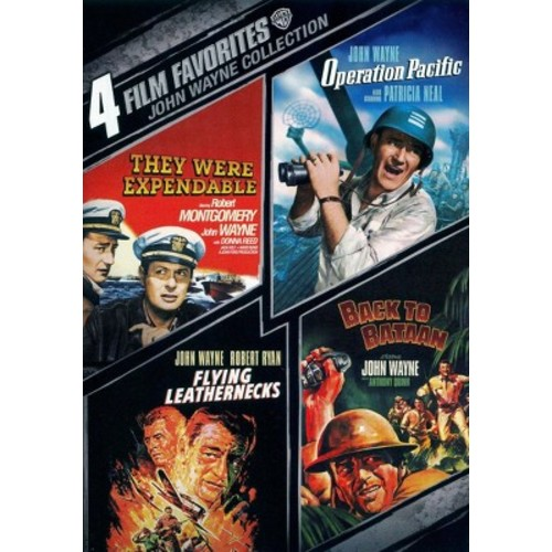 John Wayne War: 4 Film Favorites (2 Discs) (dvd_video)