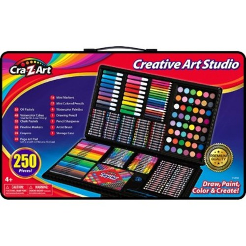 Cra-Z-Art Super Art Set - 250 pcs