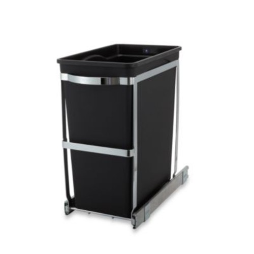 simplehuman Commercial Grade 30-Liter Pull-Out Wastebasket