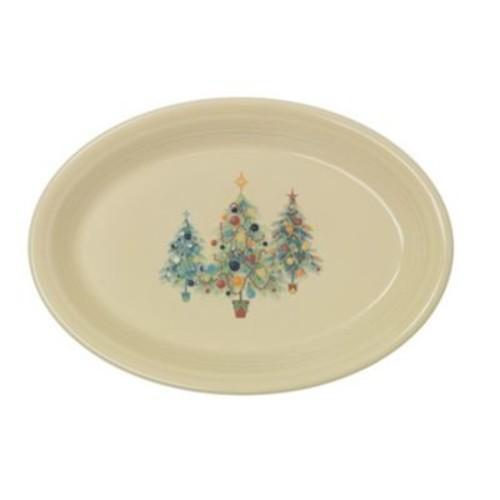 Fiesta Christmas Tree Platter