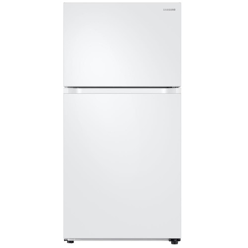 Samsung 21 cu. ft. Top Freezer Refrigerator with FlexZone - White