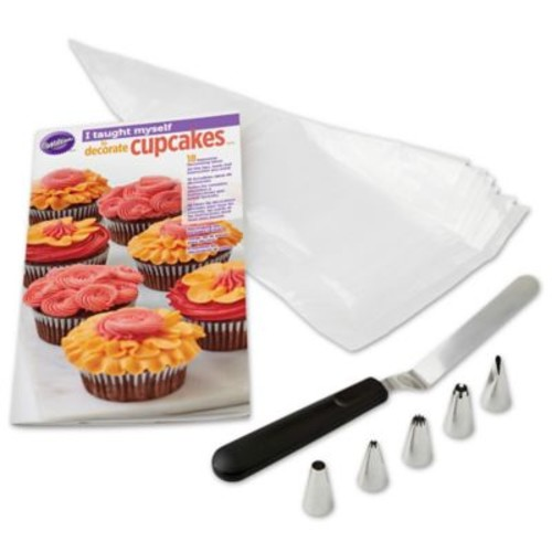 Wilton I Taught Myself to Decorate Cupcakes Decorating Set