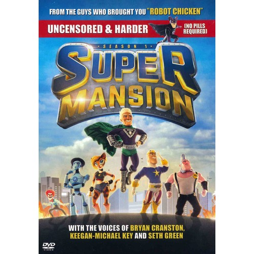 Supermansion: Season One (DVD)