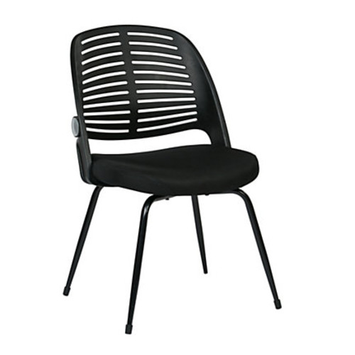 Ave Six Tyler Visitor Chair, Black