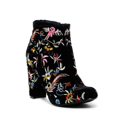 Kenzy Embroidered Bootie