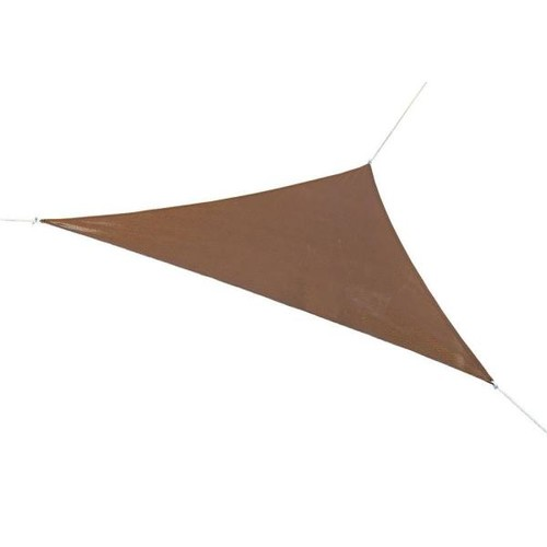 Coolaroo Ready to Hang Shade Sail Canopy 11 Foot 8 Inch Triangle - Mocha [Mocha, 11.8-Feet]