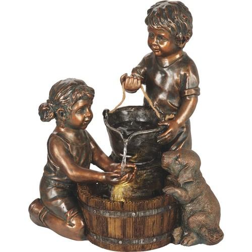 Best Garden Kids & Pail Fountain - WXF02852