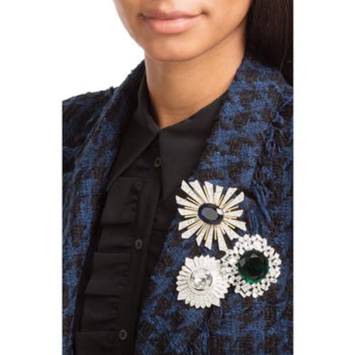 Crystal Embellished Brooch