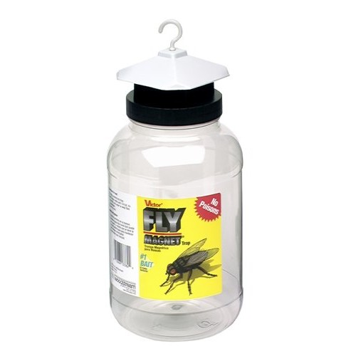 Victor M382 Fly Magnet Trap, 1 Gallon with Bait [1 Gallon]