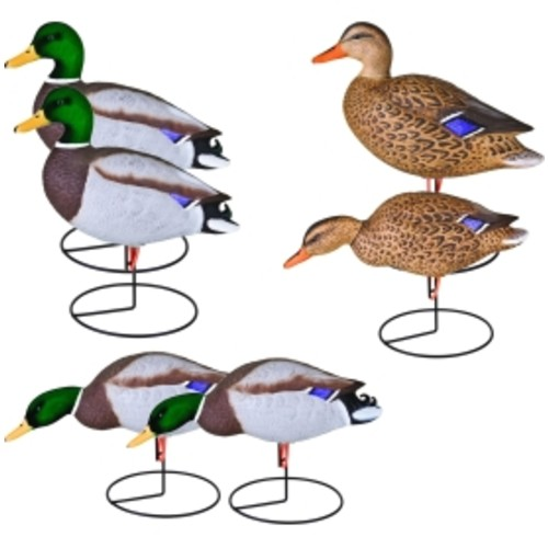 Flambeau Storm Front Flocked Head Mallard Duck Decoy  6 Pack