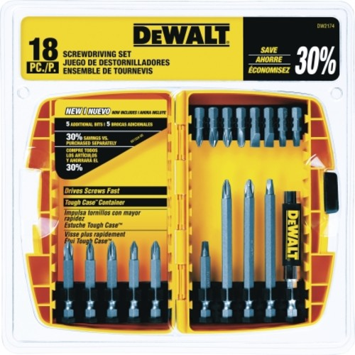 Dewalt 18 piece Multi Size Scredriver Bit Set (DW2174)