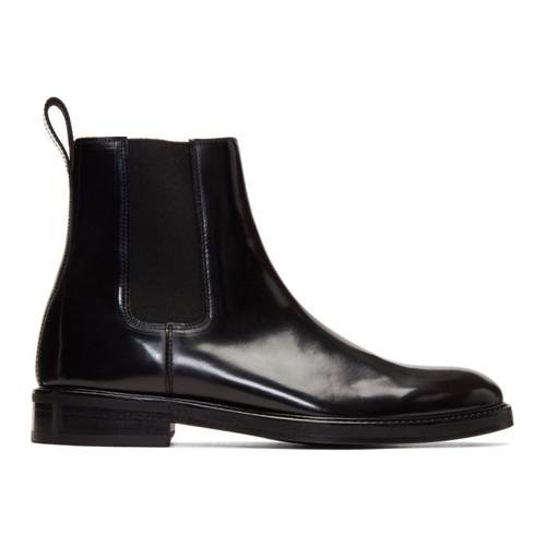 Black Patent Max Chelsea Boots