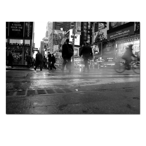 Trademark Global Yale Gurney '44th Street' Canvas Art [Overall Dimensions : 18x24]