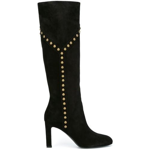 SAINT LAURENT 'Grace 105' Y Studded Boots