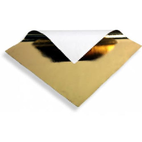 Gold Lame Butterfly/Overhead Reflector (6 x 6')