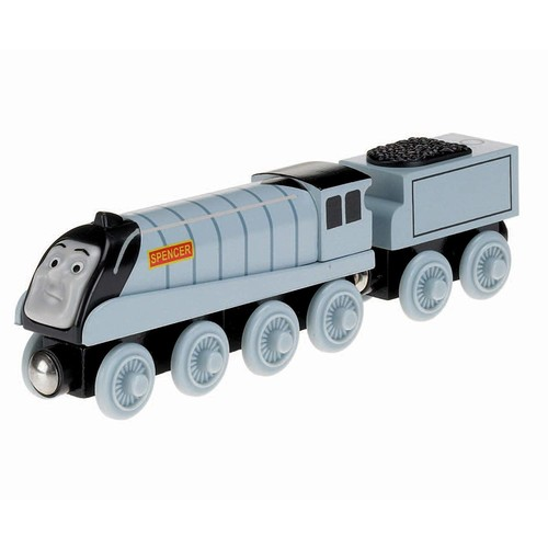 Fisher-Price Thomas & Friends Wooden Railway, Talking Spencer - Battery Operated