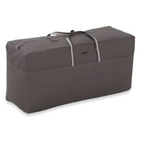 Classic Accessories Ravenna Patio Cushion Bag in Dark Taupe