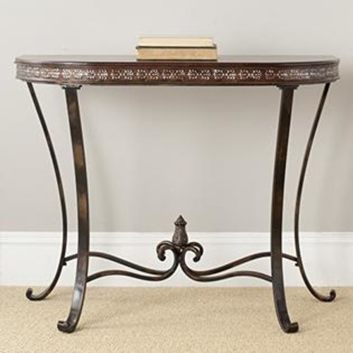 Safavieh Lahoma End Table, Medium Oak