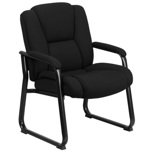 Flash Furniture Office Chairs Black Fabric Side Chair