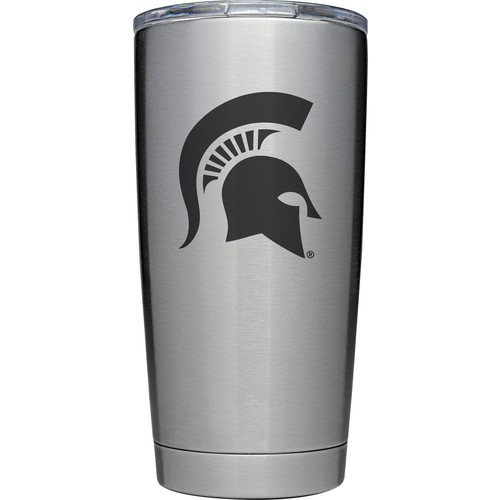 YETI Michigan State Spartans 20 oz. Rambler Tumbler with MagSlider Lid