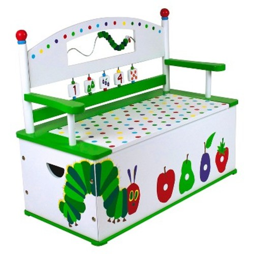 Very Hungry Caterpillar Bench Seat with Storage