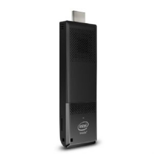 Intel Compute Stick STK1A32SC - Stick - 1 x Atom x5 Z8300 / 1.44 GHz - RAM 2 GB - flash - eMMC 32 GB - HD Graphics - WLAN: 802.11a/b/g/n/ac, Bluetooth 4.0 LE - monitor: none