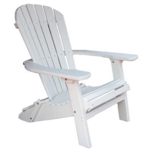 Buyers Choice Phat Tommy Adirondack Chair; Alpine White