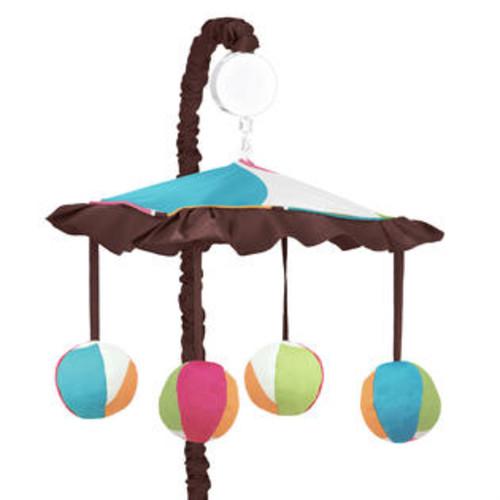 Sweet Jojo Designs Deco Dot Collection Musical Mobile