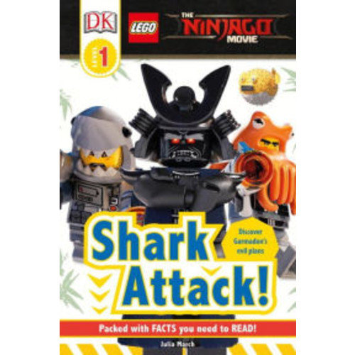 The LEGO NINJAGO MOVI : Shark Attack! (DK Readers Level 1 Series)