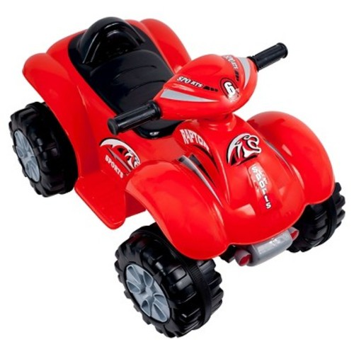 Lil' Rider Rally Racer Battery Powered 4x4 ATV Red