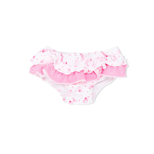 seahorse frilled nappy pants