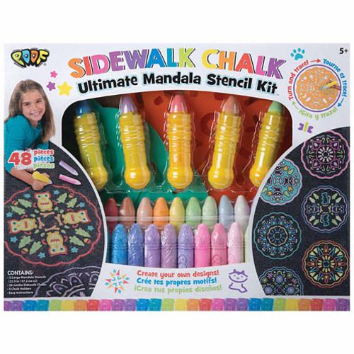 Poof Ultimate Chalk Mandala Set Combo Game Set